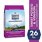 Natural Balance L.I.D. Limited Ingredient Diets Sweet Potato & Venison Formula Dry Dog Food, 26 lb. Bag