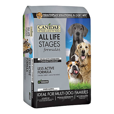 CANIDAE All Life Stages Platinum, 15 lb.