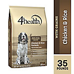 4health Chicken & Rice Formula Adult Dog Food, 35 lb. Bag