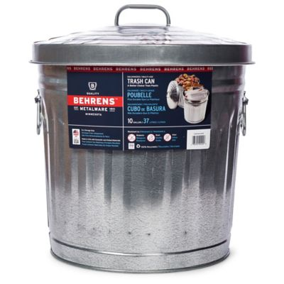 Buy Behrens 10 Gallon Galvanized Steel Utility/Trash Can Online