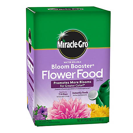 Miracle-Gro Water Soluble Bloom Booster Flower Food 1.5 lb., 1001921