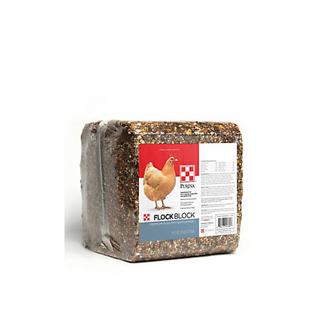 Purina Flock Block, 25 lb, 3003351-603