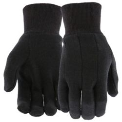 Shop 12 pk Brown Jersey Gloves at Tractor Supply Co.