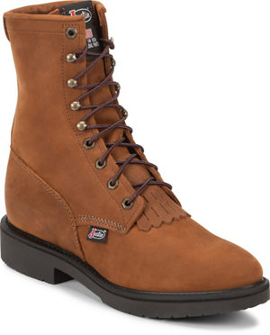 Justin Men S 8 In Lacer Original Work Boots At Tractor