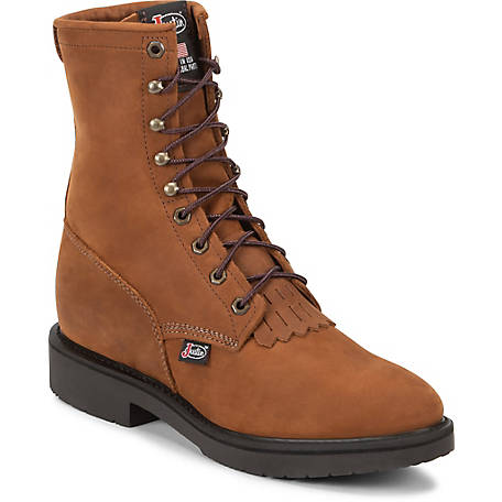 Justin Men's 8 in. Lacer Original Work Boots