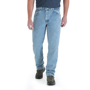 Wrangler Menu0027s Rugged Wear Relaxed Fit Jean