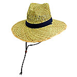 DPC Rush Straw Big Brim Safari with Chin Cord