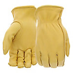 West Chester Men's Grain Deerskin Leather Driver Gloves