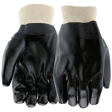 West Chester PVC Coated Gloves with Knit Wrist