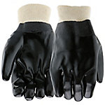 West Chester Men's PVC Coated Gloves with Knit Wrist