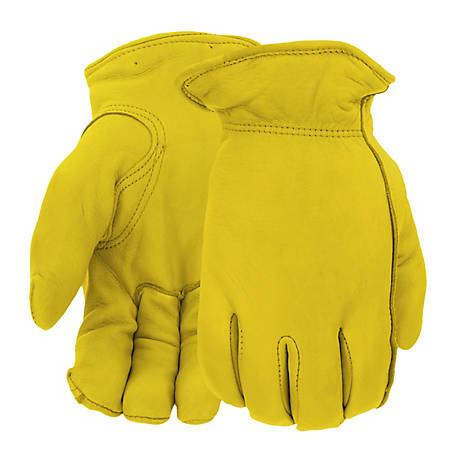 West Chester Men's Grain Deerskin Thinsulate Gloves