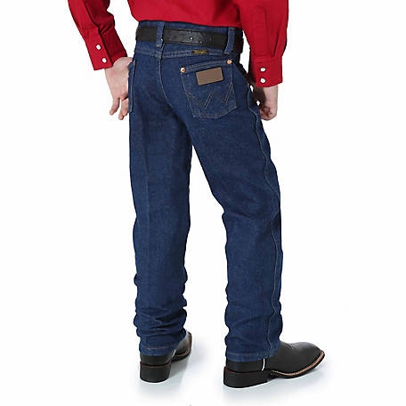 Wrangler Boy's Pre-Washed Cowboy Cut Original Fit Jean