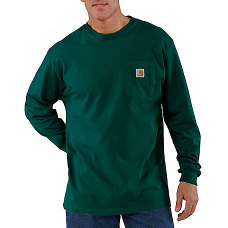 Carhartt Men's Long Sleeve Workwear Pocket Tee Shirt, K126