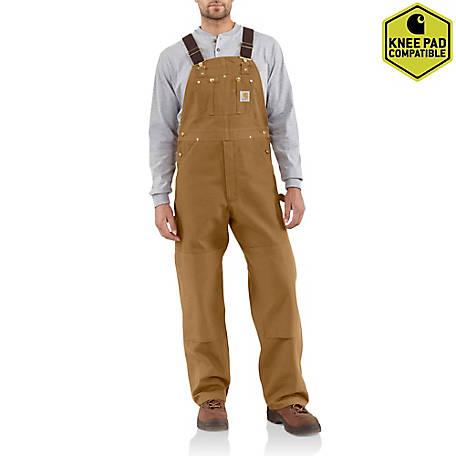 Carhartt Men S Unlined Duck Bib Overalls At Tractor Supply Co