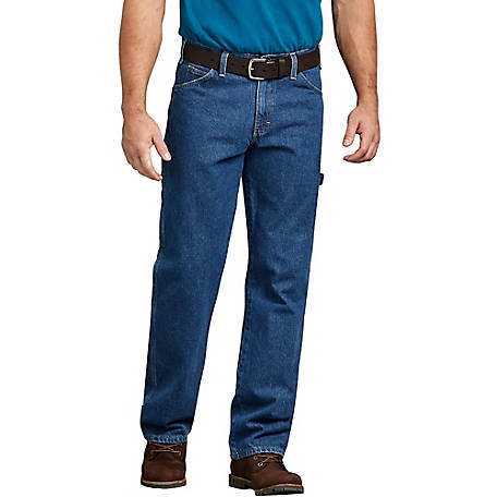 Dickies Men's Relaxed Fit Carpenter Denim Jean