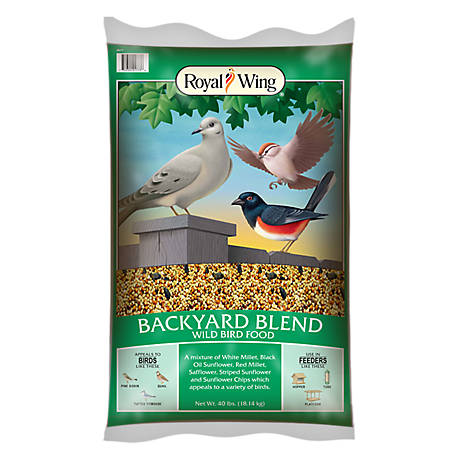 Royal Wing Backyard Deluxe, 40 lb.