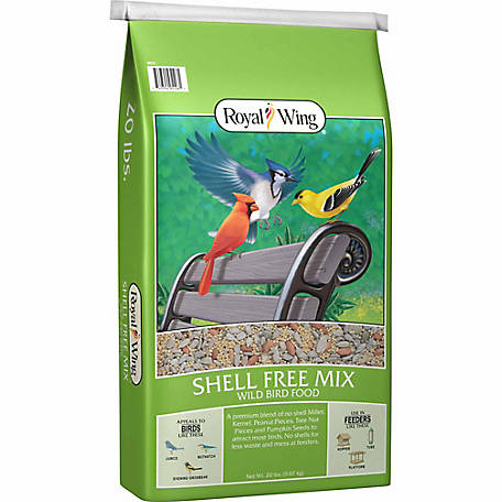 Royal Wing Shell-Free Mix, 20 lb.