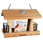 Royal Wing Deluxe Cedar Feeder with Suet Cages