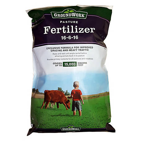 GroundWork Pasture Fertilizer 16-6-16, 50 lb.