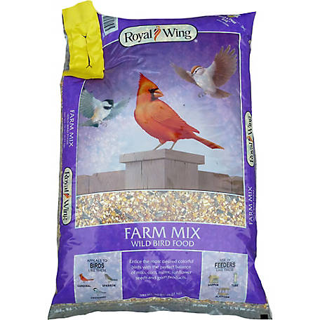 Royal Wing Farm Mix, 20 lb.