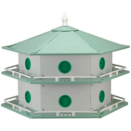 Heath Outdoor Products Deluxe 12-room Aluminum Purple Martin House