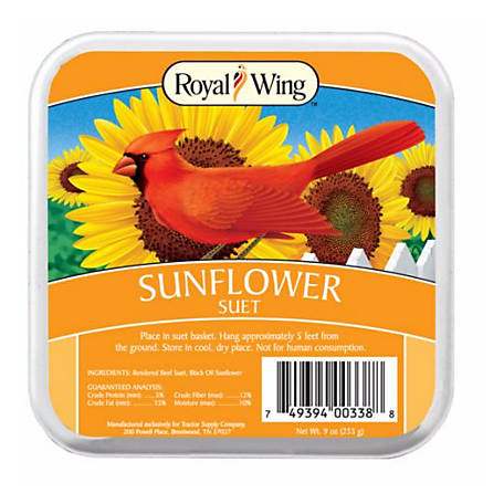 Royal Wing Sunflower Suet