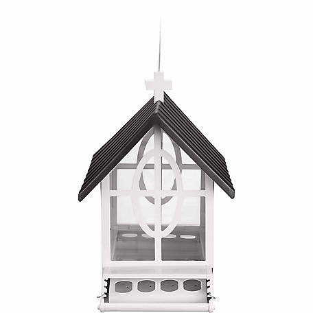 Royal Wing Metal Squirrel-Resistant Church Bird Feeder