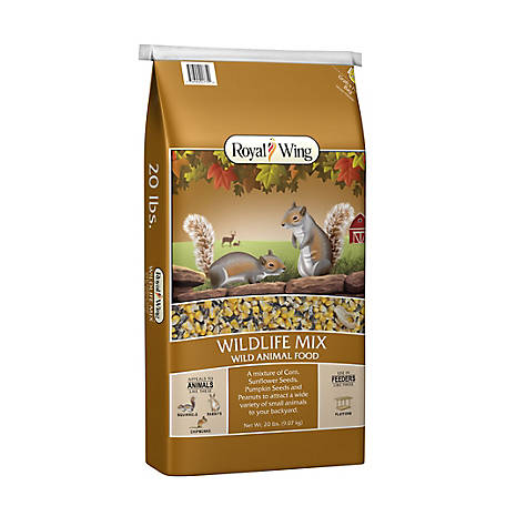 Royal Wing Wildlife Mix, 20 lb.
