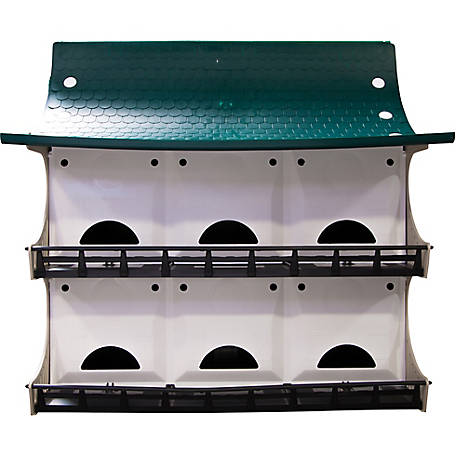 Royal Wing Purple Martin House for 12 Families