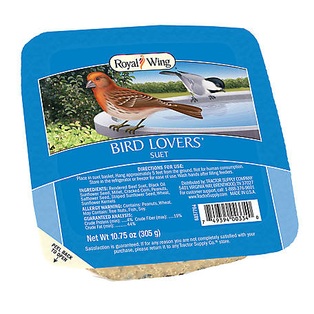 Royal Wing Bird Lovers Suet