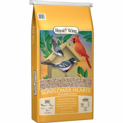 Royal Wing Sunflower Hearts, 20 lb. | Tuggl