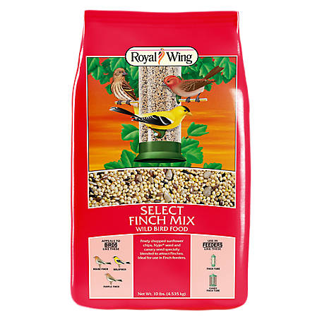 Royal Wing Select Finch Mix Wild Bird Food, 10 lb.