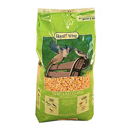 Royal Wing Shelled Corn Wild Bird Food, 11 lb.