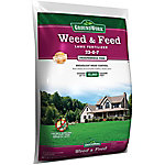 GroundWork Weed & Feed Lawn Fertilizer, 23-0-7, 50 lb., 32410