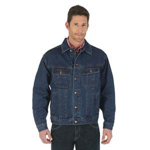 Vintage Men's Denim Jacket / Mens Jeans Jacket / Wrangler Jacket / Wrangler Denim Jeans Jacket / Blue Denim Coat / Men's Large Jacket / Coat I5Xxk1w