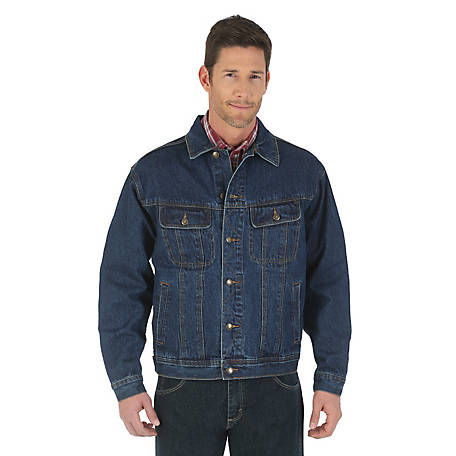 Wrangler Men S Rugged Wear Denim Jacket At Tractor Supply Co