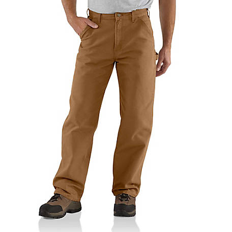 Carhartt Men's Washed Duck Dungaree Pants, B11