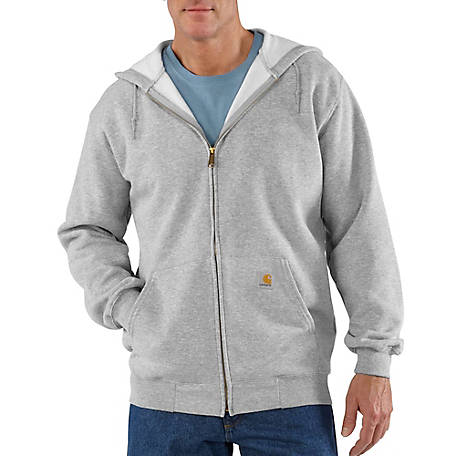db9d8077d Carhartt Men's Mid-Weight Hooded Zip Front Sweatshirt