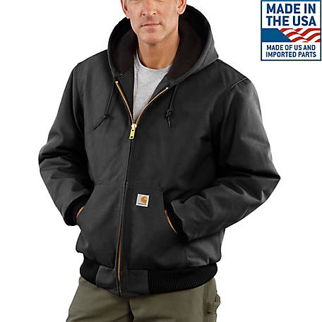 2de4c1eb659 Carhartt Men s Quilted Flannel Duck Active Jacket at Tractor Supply Co.