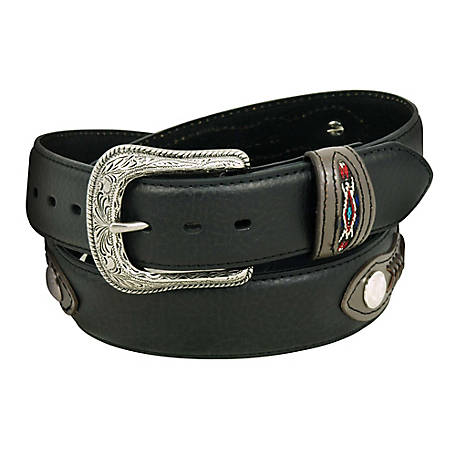 C.E. Schmidt Men's 1-3/8 in. Western Style Belt