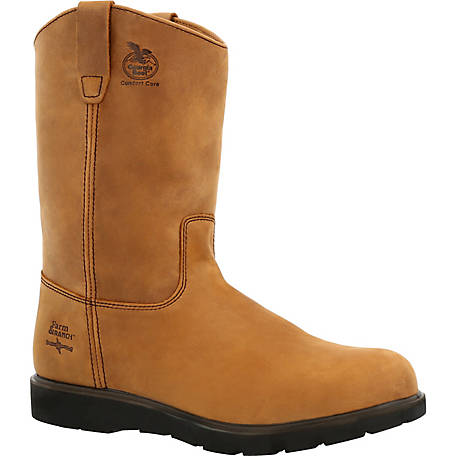 9c0b592ddc2b Georgia Boot Men's 11 in. Farm & Ranch Wellington Comfort Core Work Boot at  Tractor Supply Co.
