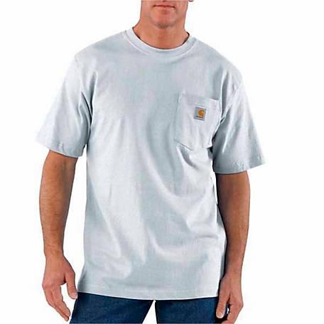 7b6d9d63a69 Carhartt Men s K87 Workwear Pocket Short Sleeve T-Shirt