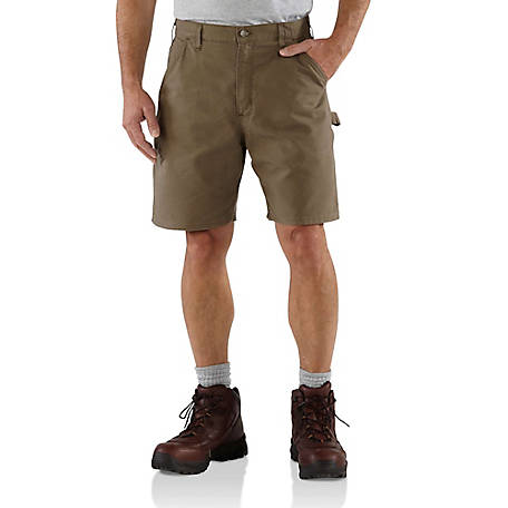 Carhartt Men's Canvas Work Short B144, B144-LBR