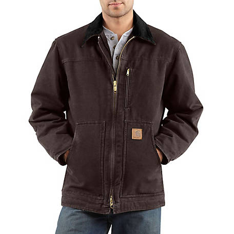 c68bd31334 Carhartt Men's Ridge Coat, Sherpa Lined