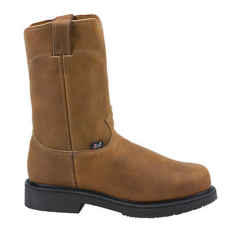 Justin Men's 10 in. Steel Toe Original Boot