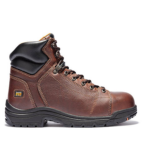 to Co Alloy Men's inTitan Safety Timberland Toe Supply PRO Tractor at Toe 6 Lace OkTPuiXZ