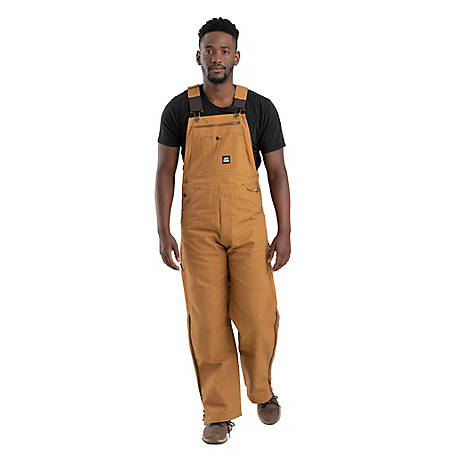 Berne Men's Unlined Duck Bib Overall