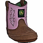 John Deere Infant Johnny Popper Western Booties