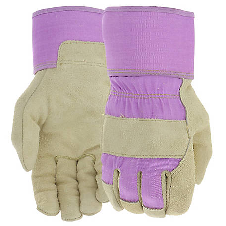 West Chester Ladies' Split Cowhide Leather Palm Gloves
