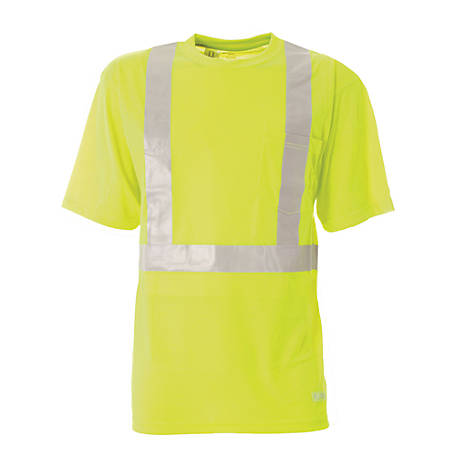 Berne Class 2 Hi-Visibility Short Sleeve Pocket T-Shirt